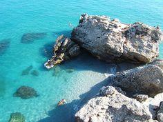 Nerja, Costa del Sol, Spain.  Where we cliff jumped, Summer '10  Heladooooooooo