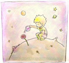 Resultado de imagem para desenhos do pequeno príncipe tumblr