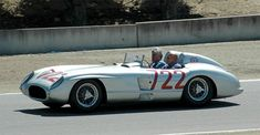 """Sir Stirling Craufurd Moss OBE FIE """"There are many old race car drivers, and there are many bold race car drivers, but there aren't many old, bold race car drivers"""". One of the few is Sir Stirling Moss. He accompanied the race car that won the race he is best known for, the 1955 Mille Miglia. The car was a Mercedes-Benz 300 SLR number 722, so named as its starting time was 7:22 AM. The win was a team effort with a journalist and his Navigator, Denis Jenkinson. His passenger pictured is Jay…"""