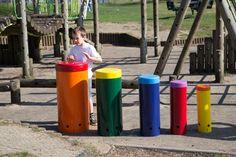 Rainbow Sambas, Outdoor Musical Instruments, AMV Playgrounds.