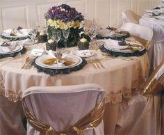 Table settings as inspiration for high tea themes