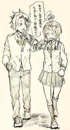 Kaminari Denki & Jirou Kyouka