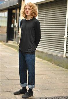 Vintage Levi's 501 dark blue jeans Levi