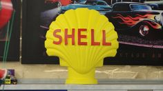 Shell Muschel Deko Figur Skulptur Dekofigur Werbefigur Gips Tankstelle Rep in Möbel & Wohnen, Dekoration, Dekofiguren | eBay!
