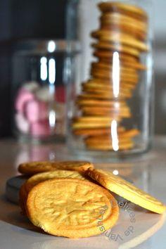 sablés miel vanille cannelle