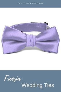 TieMart Boys Mint Green Emma Floral Pattern Bow Tie