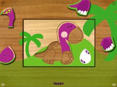 Mainstreet & Apple: App for the Wee Little One in your life - Wood Puzzles