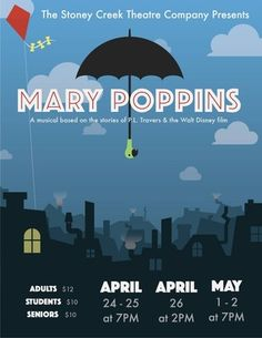Mary Poppins. Stoney Creek High School.