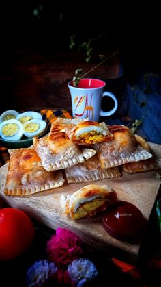 Tea Time Snacks, Lunch Snacks, Party Snacks, Yummy Snacks, Yummy Food, Egg Recipes, Indian Food Recipes, Snack Recipes, Cooking Recipes