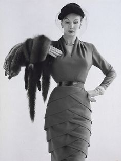 Dress by Lily Schroter <3 1951