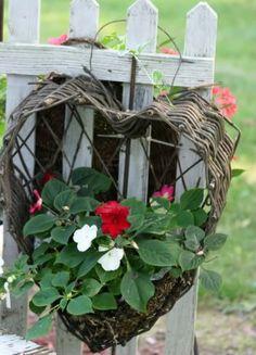 Planter heart
