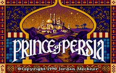 Prince of Persia 1 Amiga Prince Of Persia, Games To Play, Pc Games, Latest Gadgets, First Game, Arabian Nights, Classic Films, Jordan, The Conjuring