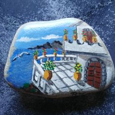 #stoneart #painting