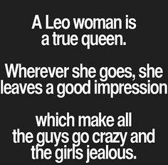 Leo woman queen