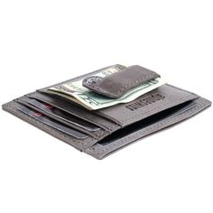 Save $25.01 on Alpine Swiss Rugged Pullup Leather Hand Crafted Men`s Money Clip mini Wallet ID Credit Card Holder Front Pocket...; only $9.99