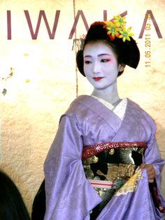 Miako Geisha girl. She is beautiful!
