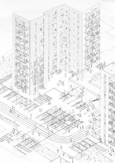 New York City public housing studio by XERCAVINS