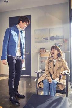 Park hyung sik and park bo young strong woman do bong soon drama ❤❤ Cute Couple Art, Cute Couples, Strong Girls, Strong Women, Do Bong Soon Fashion, Strong Woman Do Bong Soon Wallpaper, Ahn Min Hyuk, Park Hyung Shik, Korean Actors