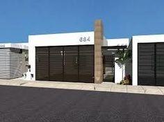fachada minimalista con reja - Buscar con Google