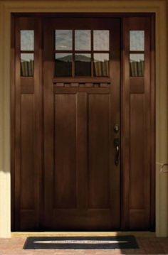 pella doors craftsman. Pella Architecture Series - Craftsman Light Doors V