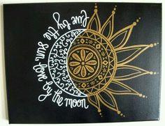 ~ CLIP ART GALORE ~ Live by the sun, love by the moon clip art design