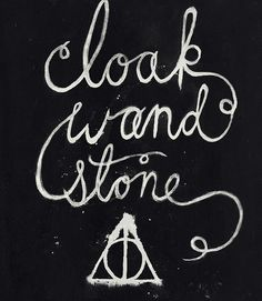 the deathly hallows.