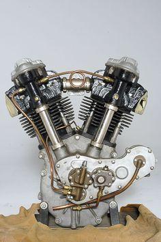 Crocker Motorcycle Engine