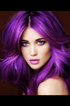 While purple hair may be popular, remember to keep your hair healthy and looking…