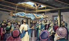 DIOS ME HABLA HOY: Lucas 5, 17-26  Yo te lo mando: levántate, toma tu camilla y vete a tu casa.  http://es.catholic.net/op/articulos/63886/levantate-y-anda.html