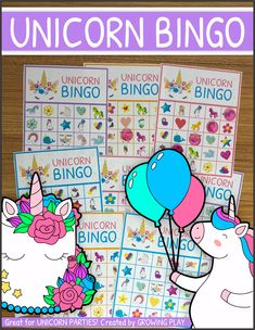 This Unicorn Bingo Party Printable includes 8 Unicorn themed bingo boards and 48 Unicorn themed calling cards. This is the PERFECT game for Unicorn birthday party. Just print and you have a Unicorn themed game for a group of kids or family fun night!