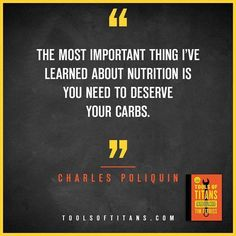 "Click to find more Quotes from Tim Ferriss' book! And to see my review of ""Tools of Titans"". This an inspirational quote by Charles Poliquin that you can find in Tim Ferriss new book Tools of Titans. A great book for entrepreneurs, full of productivity, health, wealth, tips and habits!"