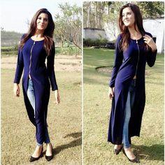 Shrugs for dresses – Lady Dress Designs Shrug For Dresses, Trendy Dresses, Fashion Dresses, Hijab Fashion, Pakistani Dresses, Indian Dresses, Indian Outfits, Iranian Women Fashion, Indian Fashion