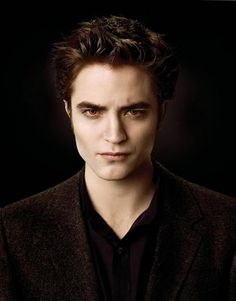 Edward Cullen ~ a rich, handsome gentleman with the rock-hard body of a 17 year old, who doesn't need to breathe . . .