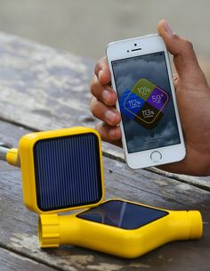 solar powered soil sensors talk to smart phones.... new tool for farming in remote areas - ( IMHO eeekkkk! scary stuff)