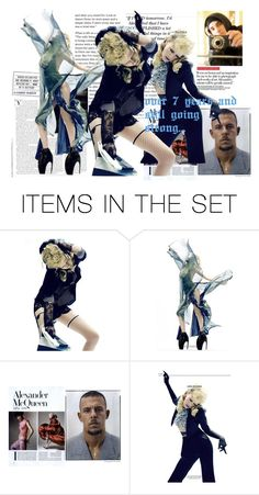 """""""Alexander McQueen"""" by mariamehau ❤ liked on Polyvore featuring art"""