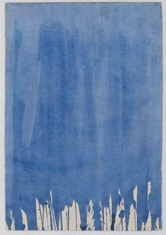 Yves KLEIN - Conceptual Art - New Realism - Blue - D 25, 1957