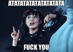 Babymetal; Fans have created a lot of picture memes on the Internet which is kinda funny.
