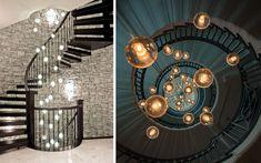 | Ideas para decorar escaleras con luz
