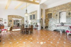 Would You Be Tempted to Buy This Charming Provencale Style Bastide? Situated in Var Back-Country, on the Cote d'Azure, this delightful stone built home nestles in a large garden, overlooking the village. #CharmingVilla #SaturdayMotivation #LuxuryVilla #CannesFilmFestival2020 #GlamorousVilla #France #interiordesign #MoveinReady #homeoftheday #SaturdayThoughts #homedecor #Fayence #Vars #architecturedaily #FrenchRiviera #French 5 Bedroom House, 3 Bedroom Apartment, Luxury Property For Sale, French Chateau, Ceiling Height, French Riviera, Patio Doors, Luxury Villa, Swimming Pools