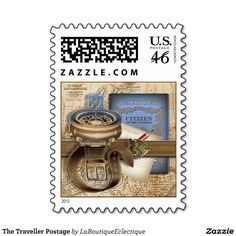 The Traveller Postage #steampunk