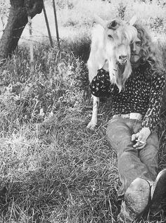 Robert plant and friend