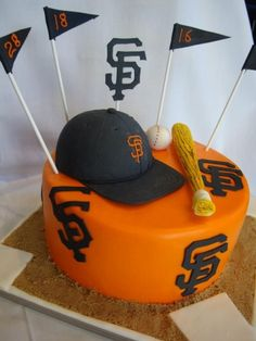 Fabulous 35 Best San Francisco Treats Images Giant Cake Treats Giants Personalised Birthday Cards Cominlily Jamesorg