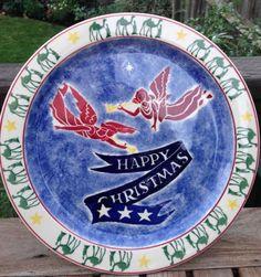Emma Bridgewater Christmas cake plate