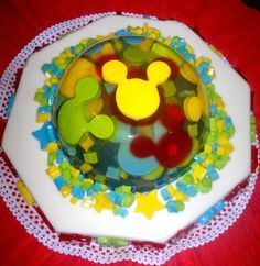 gelatina 3D mickey mouse