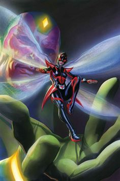 Marvel First Look All-New All-Different Avengers out May 2016 The all-new Wasp! Check out the newly redesigned Wasp costume by Alex Ross. Marvel Dc Comics, Ms Marvel, Vespa Marvel, Marvel Comic Universe, Marvel Heroes, Captain Marvel, Marvel Art, Captain America, Marvel Women