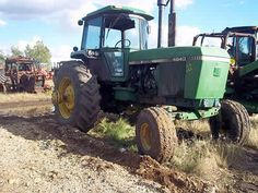 John Deere 4640 tractor dismantled for used parts. Call 877-530-4430 for parts or visit us online at http://www.TractorPartsASAP.com Thousands of salvaged tractors, vintage tractors, antique farm and ag equipment.