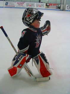 this is, honest to goodness, the cutest thing i've ever seen. my children will play hockey, no doubt.