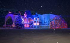 Резиденция Деда Мороза в г. Сочи.  (Экстерьеры) - фри-лансер Никита Крутиков [KRUTISHNIZER].