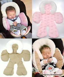 NEW Baby Full Body Support JJ Cole 2 Colours Great for Car Seat, Pram or Rocker