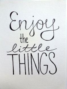 La vie est belle...